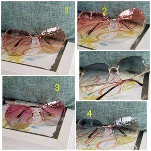 Ladies sunglasses sunglas brown lenses details